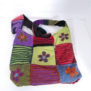 Handbags - Boho colorful hipster crossbody bag